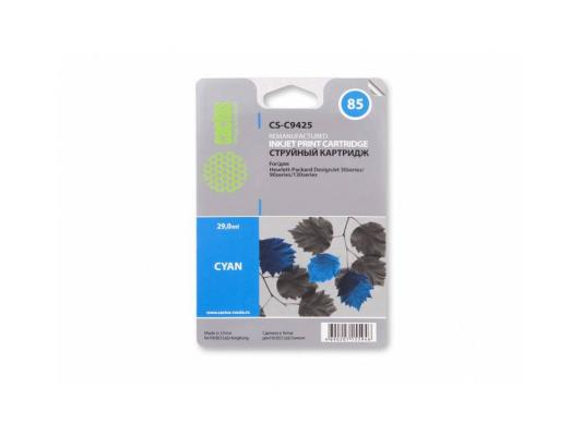 Картридж Cactus CS-C9425 №85 для HP DJ 30/130 голубой 29мл