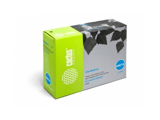 Картридж Cactus CS-Q6461A для HP Color LaserJet 4730 голубой 12000стр цена и фото