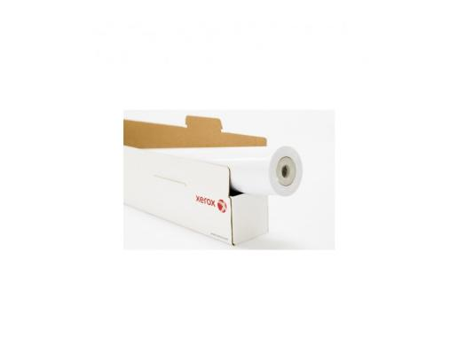 Бумага для плоттера Xerox 610мм x 50м 75г/м2 рулон для струйной печати 450L90501 бумага для плоттера xerox 1067мм х 40м 120г м2 рулон для струйной печати 450l90117
