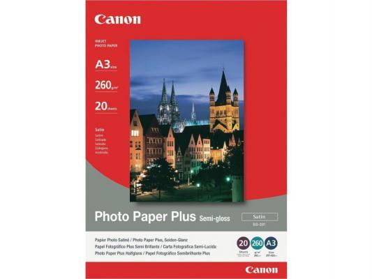 Бумага Canon А3 260 г/кв.м полуглянцевая 1686B026 SG-201 20л