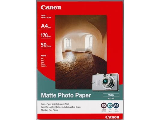 Бумага Canon МР101 А4 170 г/кв.м матовая 7981A005 50л