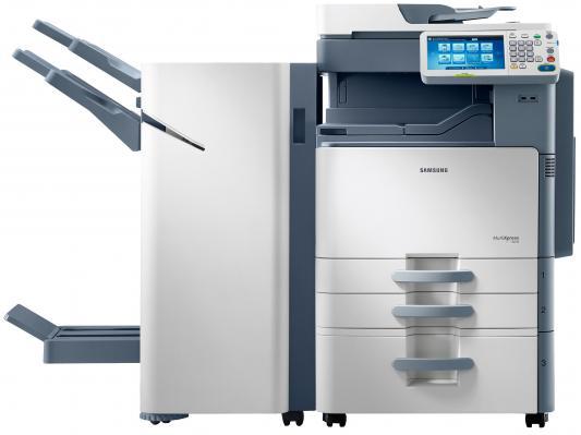 МФУ Samsung SCX-8240NA ч/б А3 40ppm 600x600dpi автоподатчик факс Ethernet USB