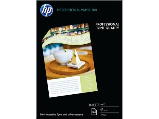 Фотобумага HP A4 210x297мм 180г/м2 двухсторонняя для струйной печати матовая Q6592A бумага для принтера hp глянцевая профессиональная бумага hp для струйной печати – 50 листов a4 210 x 297 мм