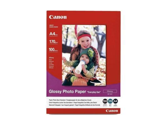 Бумага Canon GP-501 A4 210 г/кв.м глянцевая 0775B001 100л бумага hi black a200102u a4 230г м2 глянцевая односторонняя 100л h230 a4 100