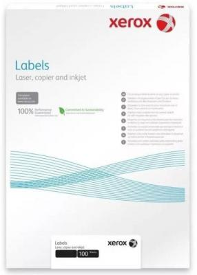 Наклейки Xerox A4 100 листов прозрачные 450L93577 наклейки miss xu a4 90