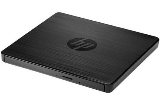 Привод DVD-RW HP USB 2.0 F2B56AA черный выносной dvd rw привод