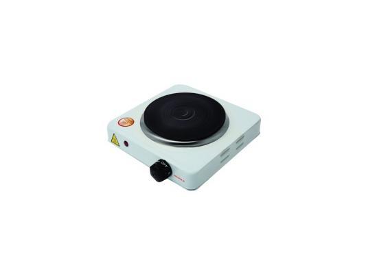 Электроплитка Supra HS-101 1000Вт белый конвектор supra ecs 410 1000вт белый