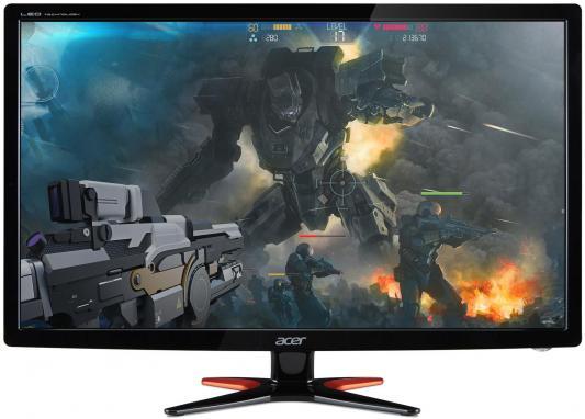"""Монитор 24"""" Acer GN246HLBbid черный TN LED 1920x1080 100000000:1 350кд/м2 1мс DVI HDMI UM.FG6EE.B06"""