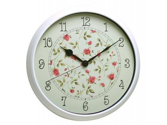 Часы Бюрократ WallC-R23P/white настенные аналоговые белый часы настенные аналоговые бюрократ черные