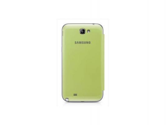 Чехол Samsung EFC-1J9FLEGSER для Galaxy Note 2 зеленый