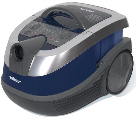 Пылесос Zelmer 919.0SP без мешка сухая и влажная уборка 1600Вт синий