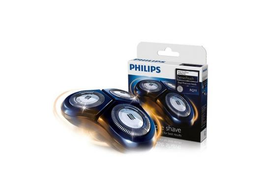 Бритвенные головки Philips RQ11/50 для 3-х головочной бритвы SensoTouch серии 11 RQ1150/1160/1180 philips qs 6100 50 бритвенные головки для стайлера qs6140