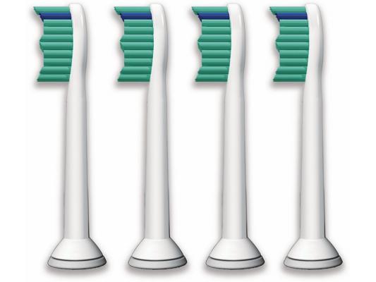 Насадка для зубной щётки Philips HX6014 для зубного центра FlexCare и звуковой щетки HealthyWhite 4шт