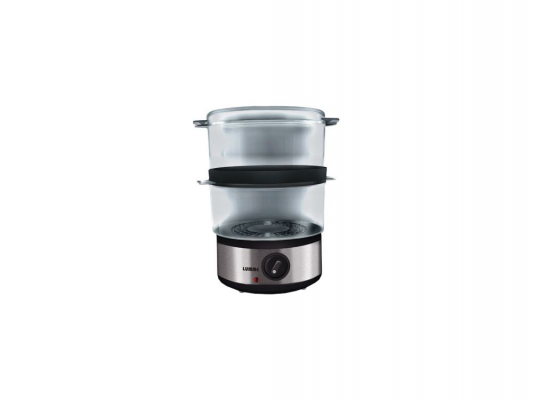 Пароварка Lumme LU-1403 400Вт серебристый