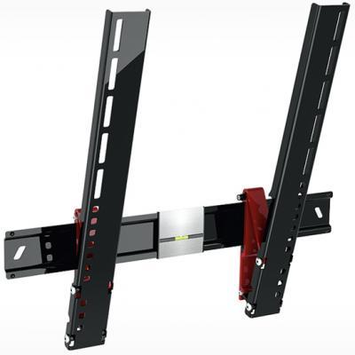 Кронштейн Holder LCDS-5084 черный для ЖК ТВ 37-55 настенный от стены 8мм наклон 15° VESA 400x400 до 35 кг