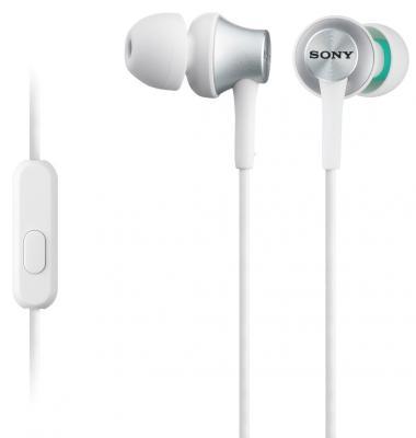 Наушники Sony MDR-EX450W/Q белый