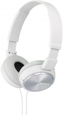 Наушники Sony MDR-ZX310 белый sony mdr zx310 w white