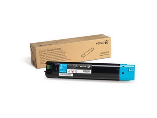 Тонер-Картридж Xerox 106R01511 для Phaser 6700 голубой