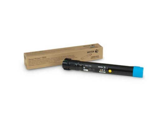 Картридж Xerox 106R01624 для Phaser 7800 голубой картридж для принтера xerox 106r01457 phaser 6128mfp purple
