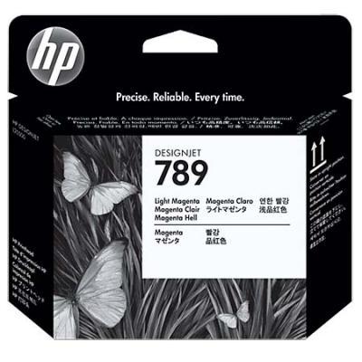 Картридж HP CH614A №789 для DesignJet L25500 пурпурный светло-пурпурный картридж hp f9j51a 765 для hp designjet t7200 пурпурный 400мл