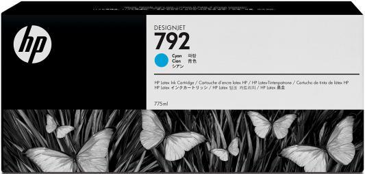 Картридж HP CN706A №792 для Designjet L26500 голубой 775мл