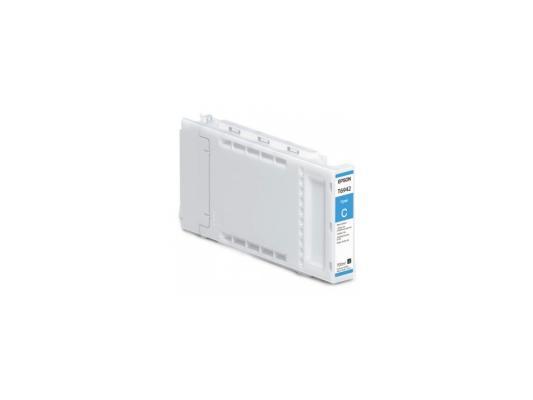 Картридж Epson C13T692200 для Epson SC-T3000/T5000 голубой 110мл чернильный картридж epson t6922 cyan c13t692200
