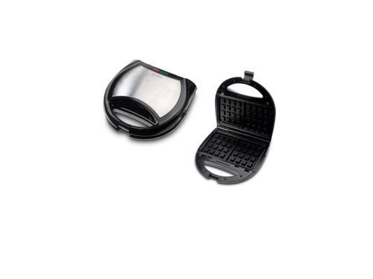 Вафельница Supra WIS-444 серебристый чёрный