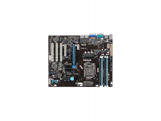 Материнская плата ASUS P9D-X LGA1150 4xDDR3 C222 1xPCI-E x16 1xPCIх8 3xPCI 4SATAII 2xSATAIII 2xEthernet D-Sub PS/2 ATX Retail