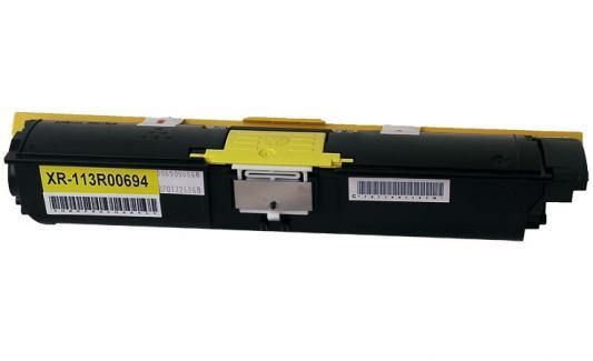 Тонер-Картридж Xerox 113R00694 для Phaser 6120/6115MFP желтый 4500стр картридж xerox 113r00692 phaser 6120 тонер картридж черный бол емкости