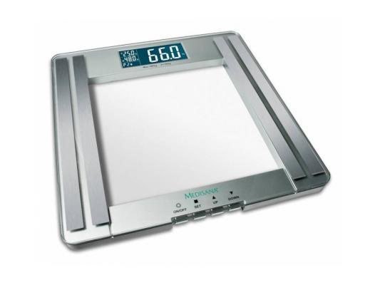 Весы кухонные Medisana 40446 PSM серебристый