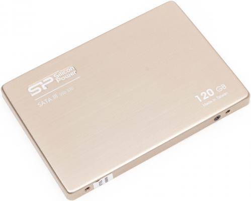 Твердотельный накопитель SSD 2.5 120 Gb Silicon Power S70 Read 550Mb/s Write 510Mb/s SATA III SP120GBSS3S70S25 s 120 48 120w mean well led switching power supply 48v 2 5a transformer from 110v 220v ac to dc output
