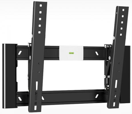 "Кронштейн Holder LCD-T4608-B черный для ЖК ТВ 32-65"" настенный от стены 40мм наклон -2°/+15° VESA 400x400 до 40 кг"