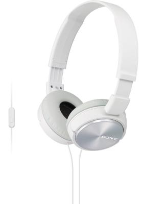 Гарнитура Sony MDR-ZX310APW белый гарнитура sony mdr ex155ap белый