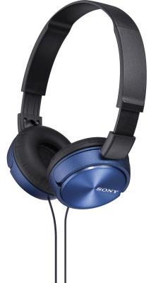 Наушники SONY MDR-ZX310L синий sony mdr xb650bt синий