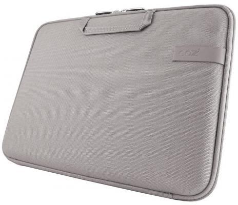 "Чехол для ноутбука 11"" Cozistyle Smart Sleeve хлопок кожа серый CCNR1104"