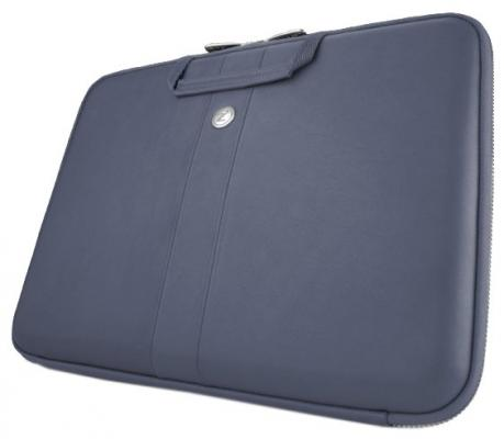 "все цены на Чехол для ноутбука 11"" Cozistyle Smart Sleeve натуральная кожа синий CLNR1102 онлайн"