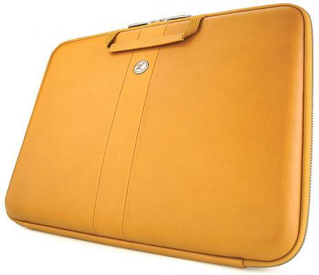 "все цены на Чехол для ноутбука 13"" Cozistyle Smart Sleeve натуральная кожа желтый CLNR1303 онлайн"