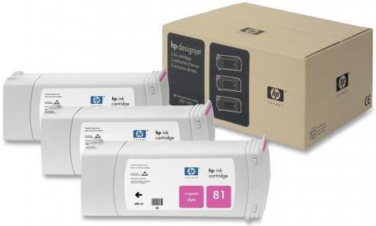 Картридж HP C5068A для DesignJet 5000/5500 пурпурный струйный картридж hp c4942a 83 пурпурный для hp designjet 5000 5500