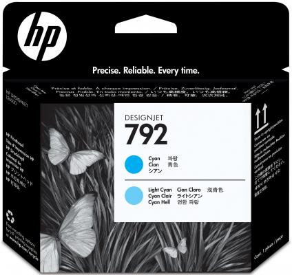 Картридж HP CN703A №792 для Designjet L26500 голубой/светло-голубой 775мл hot sales 80 printhead for hp80 print head hp for designjet 1000 1000plus 1050 1055 printer