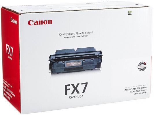 Картридж Canon FX-7 для FAX-L2000 FAX-L2000IP черный
