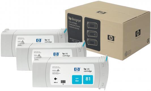 Картридж HP C5067A №81 для Deskjet 5000 голубой 3шт монитор dell 19 5 p2017h 2017 5067 2017 5067