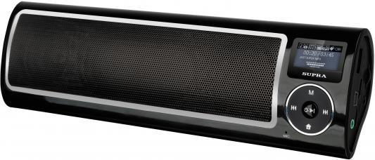 Портативная акустикаSupra PAS-6255 черный портативная акустика supra pas 6255 blue синий