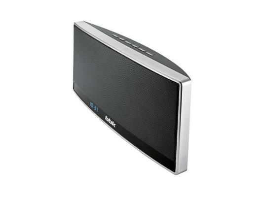Портативная акустика BBK BTA115 черный/серебристый металлик