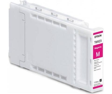 Картридж Epson C13T692300 для Epson SC-T3000 SC-T5000 SC-T7000 пурпурный 110мл free shipping t6193 maintenance box waste ink cartridge for epson surecolor t3000 t5000 t7000 wide format inkjet printer