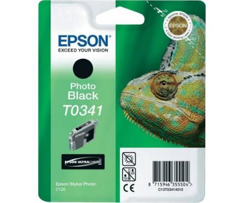Картридж Epson C13T03414010 для Stylus Photo 2100 черный 440стр картридж epson t009402 для epson st photo 900 1270 1290 color 2 pack