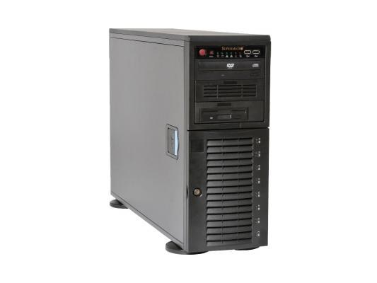 Серверный корпус E-ATX Supermicro CSE-743TQ-1200B-SQ 1200 Вт чёрный
