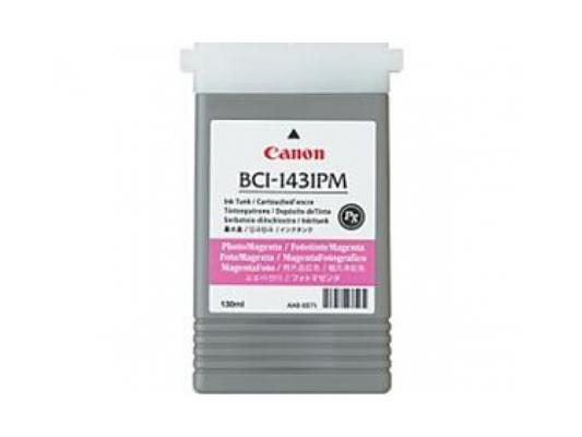 Картридж Canon BCI-1431PM для W6200 W6400 фото-пурпурный картридж для плоттера canon bci 1431 black
