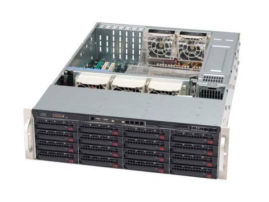 Серверный корпус 3U Supermicro CSE-836E16-R1200B 1200 Вт чёрный