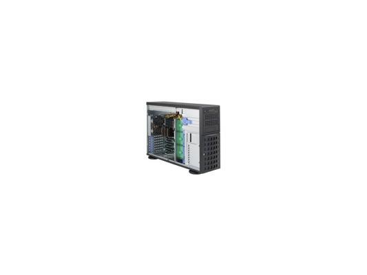 Серверный корпус E-ATX Supermicro CSE-745TQ-920B 920 Вт чёрный серверный корпус e atx supermicro cse 745tq r920b 920 вт чёрный
