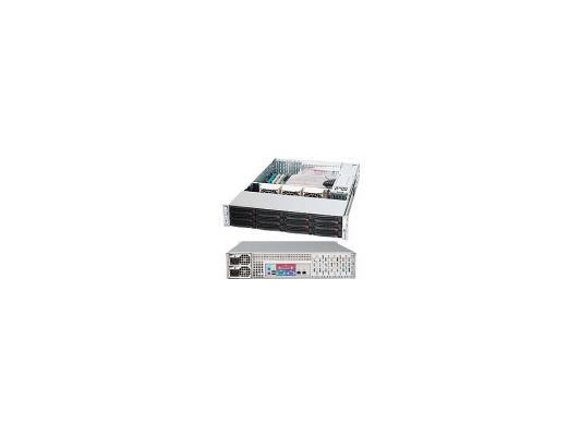 Серверный корпус 2U Supermicro CSE-826E26-R1200LPB 1200 Вт чёрный
